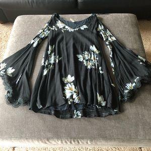 Free People Wanderer Mini Dress - S